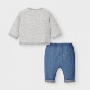 Completo pantalone e felpa