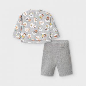 Completo pantalone palazzo bimba