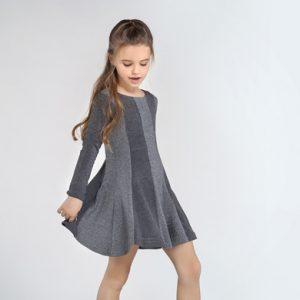 Vestito effetto metallizzato ragazza
