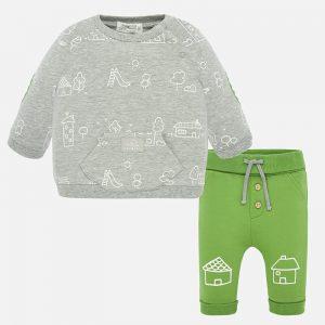Completo pantalone casette neonato