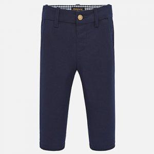 Pantalone chino lungo in lino