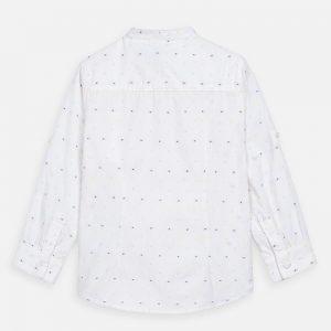 Camicia manica lunga colletto coreana