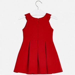 Vestito volant rosso