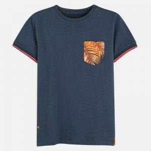 Maglietta manica corta tasca ragazzo