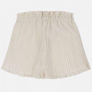 Gonna pantalone plissettata ragazza