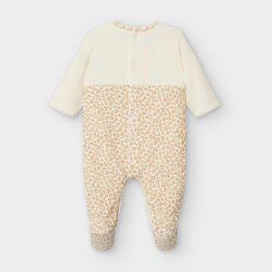 Tutina di ciniglia leopardata neonata
