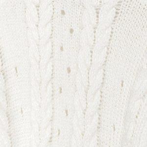 Maglioncino tricot trecce ragazza