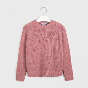 Maglioncino tricot lettere ragazza