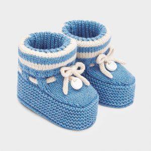 Scarpine tricot neonato