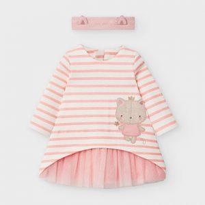 Vestito con fascetta neonata