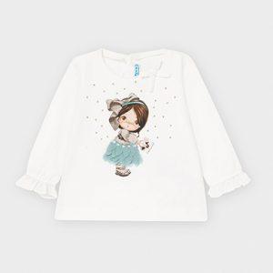 Maglietta manica lunga bambola bimba