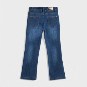 Pantalone a zampa lungo ragazza