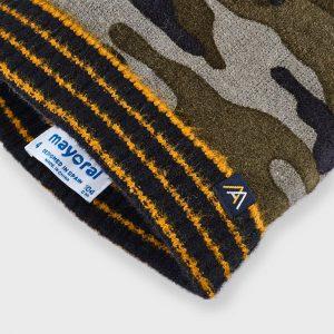 Set cappello e sciarpa camuflage