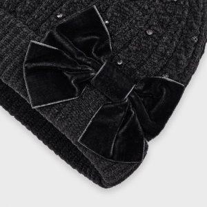 Set cappello e sciarpa ciniglia bambina