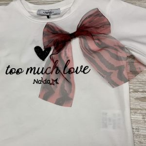 "Maglietta ""too much love"""