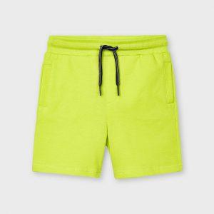 Bermuda felpa giallo lemon