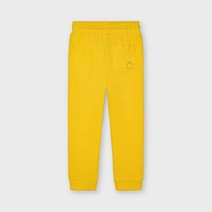 Pantalone tuta giallo