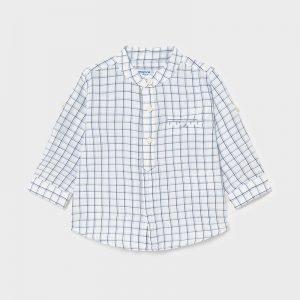 Camicia manica lunga lino