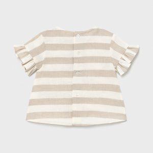 Blusa lino righe