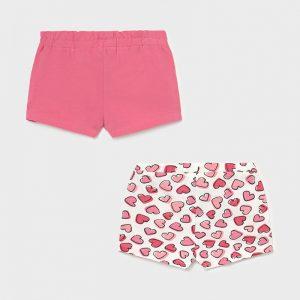 Set 2 shorts neonata