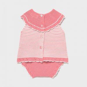 Completo tricot Ecofriends neonata