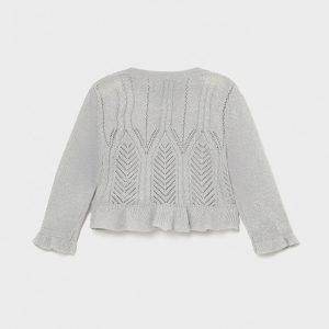 Cardigan tricot Ecofriends neonata