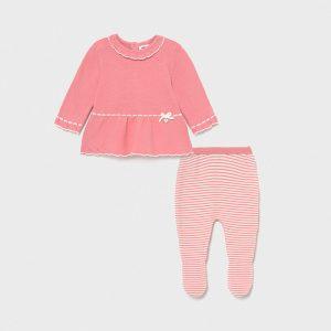 Completo ghettina tricot Ecofriends neonata