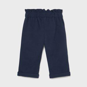 Pantalone lungo felpa blu