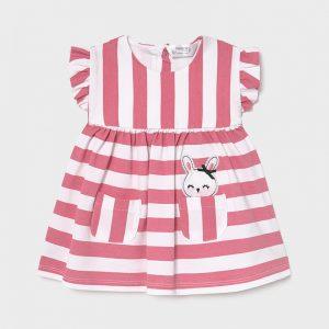 Vestito a righe neonata