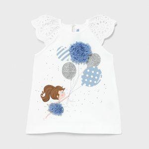 Vestito serigrafia neonata