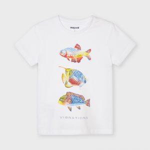 Maglietta pesci