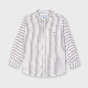 Camicia m/l lino