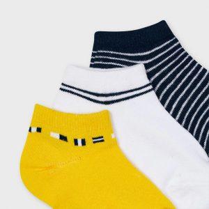 Set 3 calzini corti fantasia