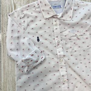 Camicia microfantasia neonato