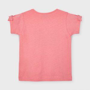 T-shirt ecofriends applicazione bambina