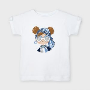 Maglietta Ecofriends applicazione bambina