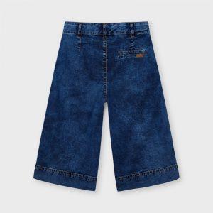 Pantalone jeans a palazzo