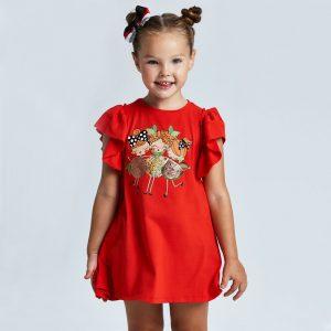 Vestito bambina lustrini