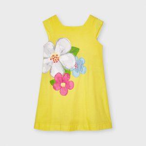 Vestito serigrafia fiori