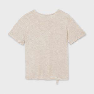 Maglietta tasche lustrini