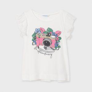 Maglietta macchina fotografica