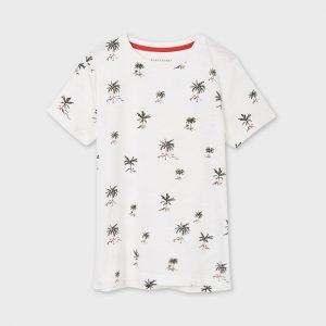 Maglietta manica corta stampata