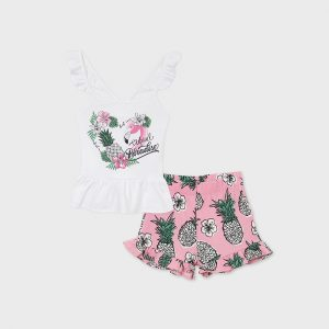 Completo shorts ananas