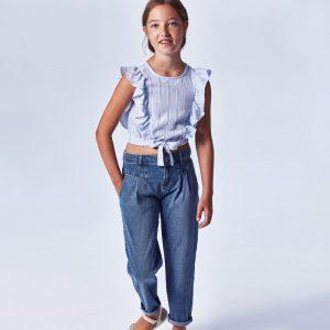 Pantalone lungo slouchy