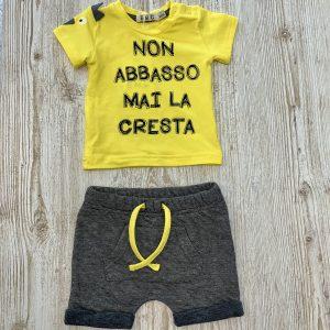 Pantalone corto neonato