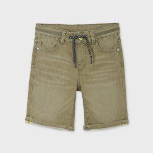 Bermuda jeans cordoncino