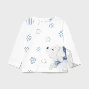 Maglietta manica lunga cagnolino