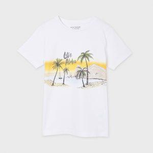 Maglietta manica corta live aloha