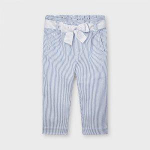 Pantalone righe lurex