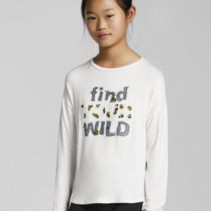 Maglietta find your wild